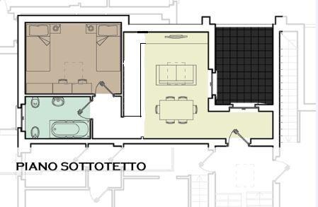 App Vanzago piano Sott Sub 7 mapp 197 - sottotetto